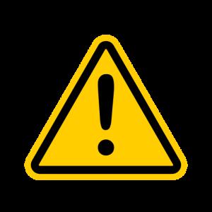 COVID-19 Caution Icon