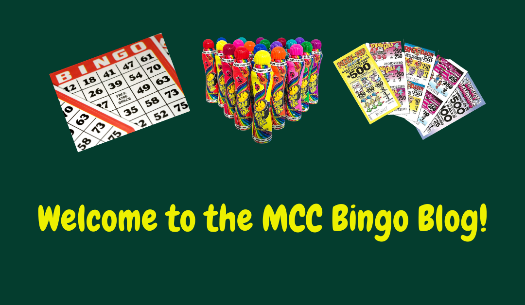 Welcome to the MCC Bingo Blog Post